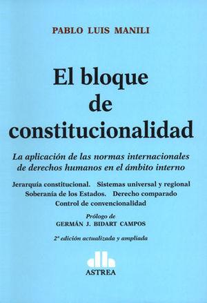 BLOQUE DE CONSTITUCIONALIDAD, EL