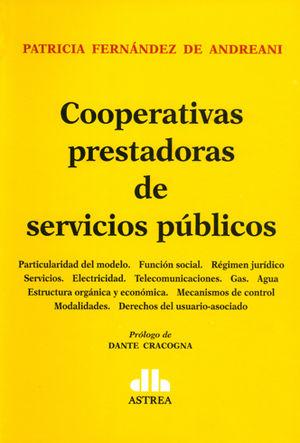 COOPERATIVAS PRESTADORAS DE SERVICIOS PÚBLICOS