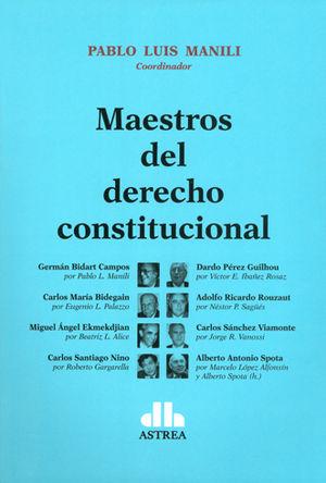 MAESTROS DEL DERECHO CONSTITUCIONAL