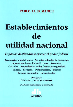 ESTABLECIMIENTOS DE UTILIDAD NACIONAL