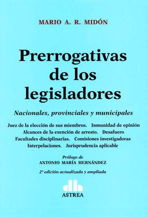 PRERROGATIVAS DE LOS LEGISLADORES