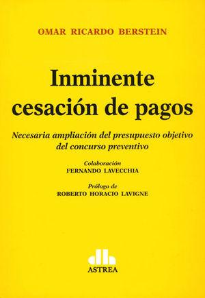 INMINENTE CESACION DE PAGOS
