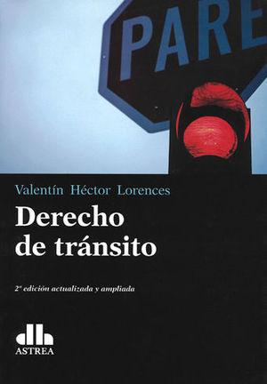 DERECHO DE TRÁNSITO