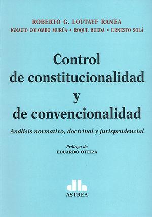 CONTROL DE CONSTITUCIONALIDAD Y DE CONVENCIONALIDAD