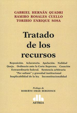 TRATADO DE LOS RECURSOS. 2 TOMOS