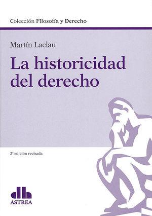 HISTORICIDAD DEL DERECHO, LA