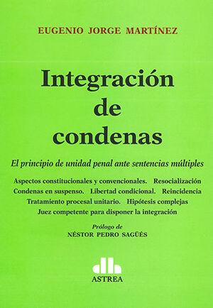 INTEGRACIÓN DE CONDENAS