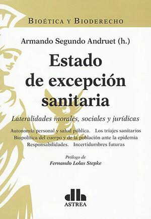 ESTADO DE EXCEPCIÓN SANITARIA