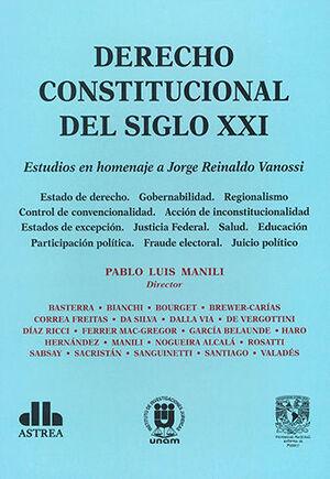 DERECHO CONSTITUCIONAL DEL SIGLO XXI