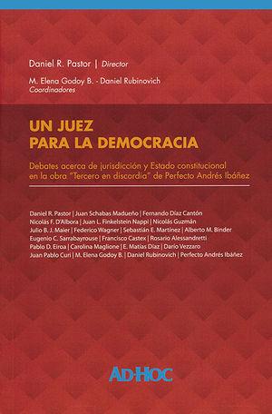 UN JUEZ PARA LA DEMOCRACIA
