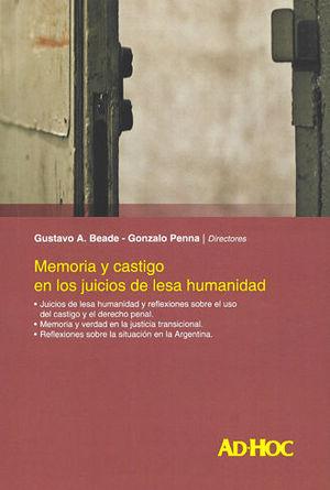 MEMORIA Y CASTIGO EN LOS JUICIOS DE LESA HUMANIDAD
