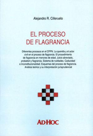 PROCESO DE FLAGRANCIA, EL