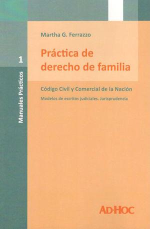PRÁCTICA DE DERECHO DE FAMILIA