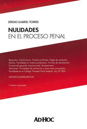 NULIDADES EN EL PROCESO PENAL