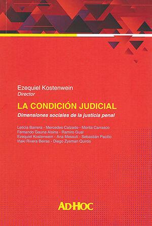 CONDICIÓN JUDICIAL, LA