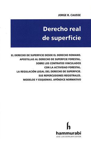 DERECHO REAL DE SUPERFICIE