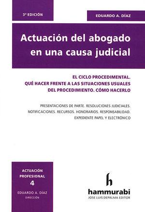 ACTUACIÓN DEL ABOGADO EN UNA CAUSA JUDICIAL