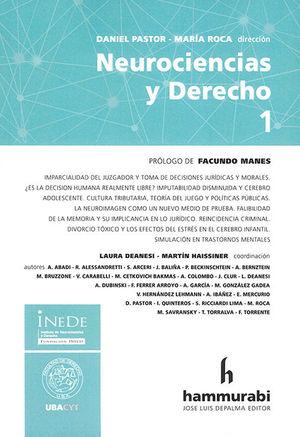 NEUROCIENCIAS Y DERECHO (TOMO I)