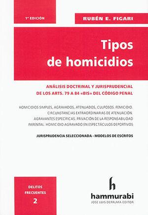 TIPOS DE HOMICIDIOS