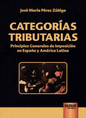 CATEGORÍAS TRIBUTARIAS