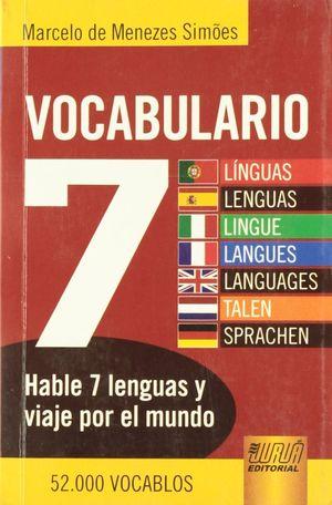 VOCABULARIO  7 IDIOMAS