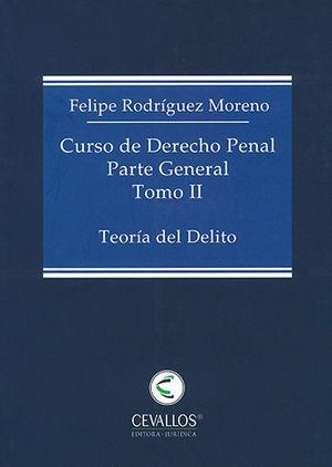 CURSO DE DERECHO PENAL PARTE GENERAL. TOMO I