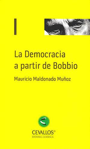 DEMOCRACIA A PARTIR DE BOBBIO, LA