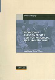 EXCEPCIONES, CUESTION PREVIA Y CUESTION PREJUDICIAL