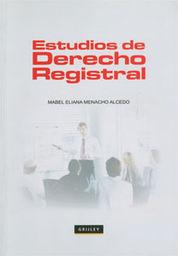 ESTUDIOS DE DERECHO REGISTRAL