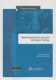 ADMINISTRACIÓN DE PERSONAL DEL SECTOR PÚBLICO