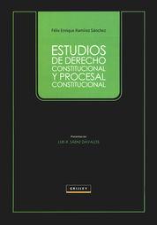 ESTUDIOS DE DERECHO CONSTITUCIONAL Y PROCESAL CONSTITUCIONAL
