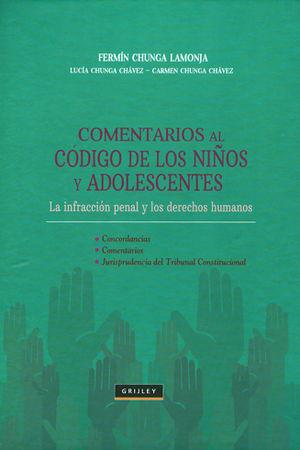 COMENTARIOS AL CODIGO DE LOS NIÑOS Y ADOLESCENTES