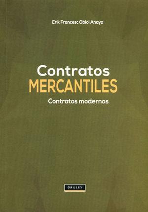 CONTRATOS MERCANTILES CONTRATOS MODERNOS