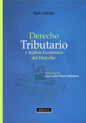 DERECHO TRIBUTARIO Y ANÁLISIS ECONÓMICO