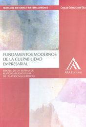 FUNDAMENTOS MODERNOS DE LA CULPABILIDAD EMPRESARIAL