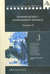 INTERPRETACIÓN Y RAZONAMIENTO JURÍDICO