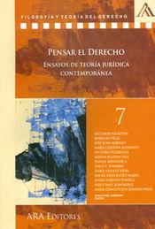 PENSAR EL DERECHO