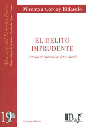 DELITO IMPRUDENTE, EL