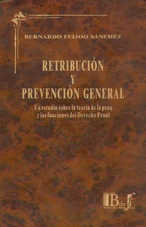 RETRIBUCIÓN Y PREVENCIÓN GENERAL