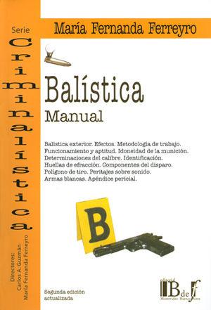 MANUAL DE BALÍSTICA