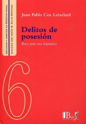 DELITOS DE POSESIÓN