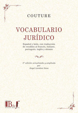 VOCABULARIO JURÍDICO