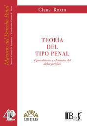TEORÍA DEL TIPO PENAL