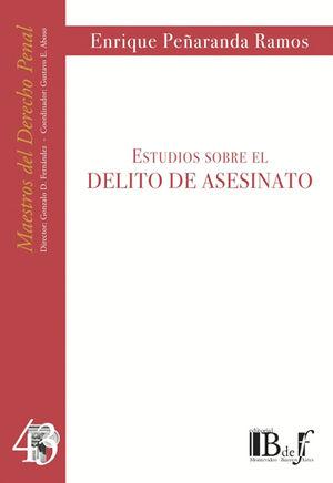 ESTUDIOS SOBRE EL DELITO DE ASESINATO