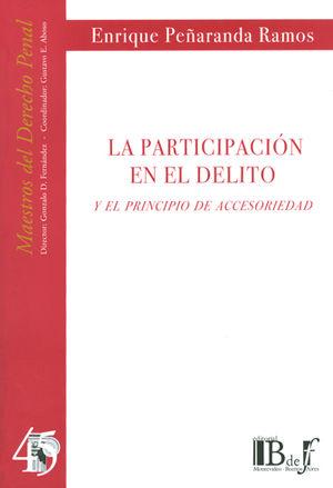 PARTICIPACIÓN EN EL DELITO Y EL PRINCIPIO DE ACCES