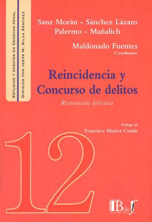 REINCIDENCIA Y CONCURSO DE DELITOS
