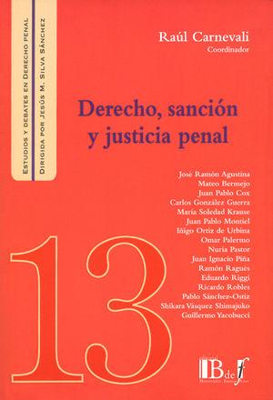 DERECHO, SANCIÓN Y JUSTICIA PENAL