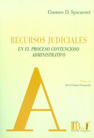 RECURSOS JUDICIALES EN EL PROCESO CONTENCIOSO ADMINISTRATIVO