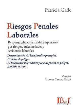 RIESGOS PENALES LABORALES