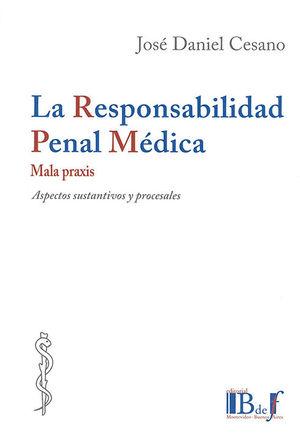 RESPONSABILIDAD PENAL MÉDICA